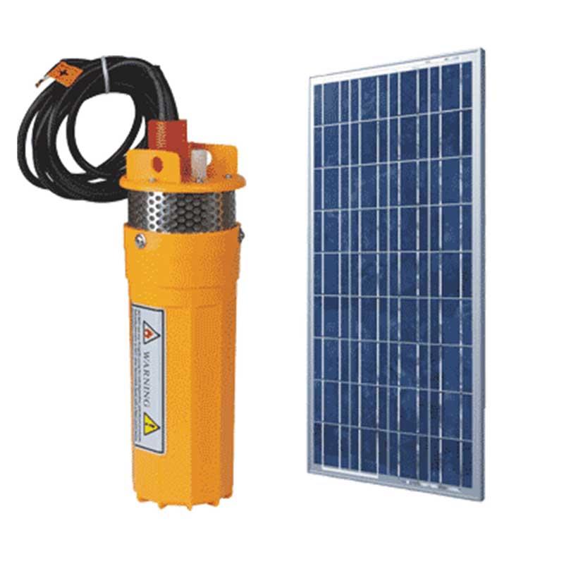 24 V DC Bore hole Pump Kit including Solar Panels