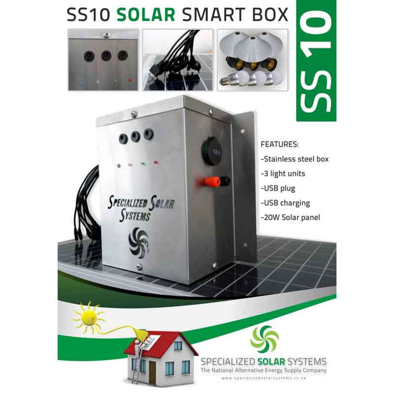 SS10 DC Micro-Grid Solar System