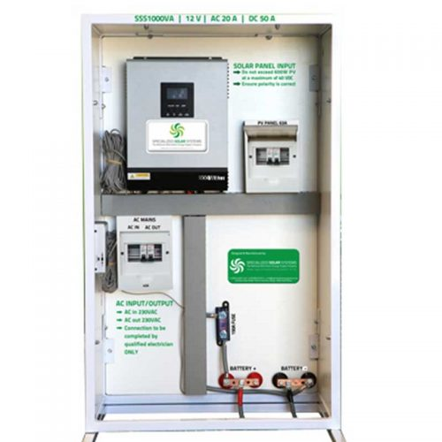 Factory Assembled Off-grid AC Solutions