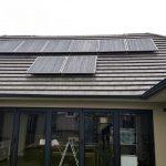 2.058 kWp Grid-Tie solar system installation