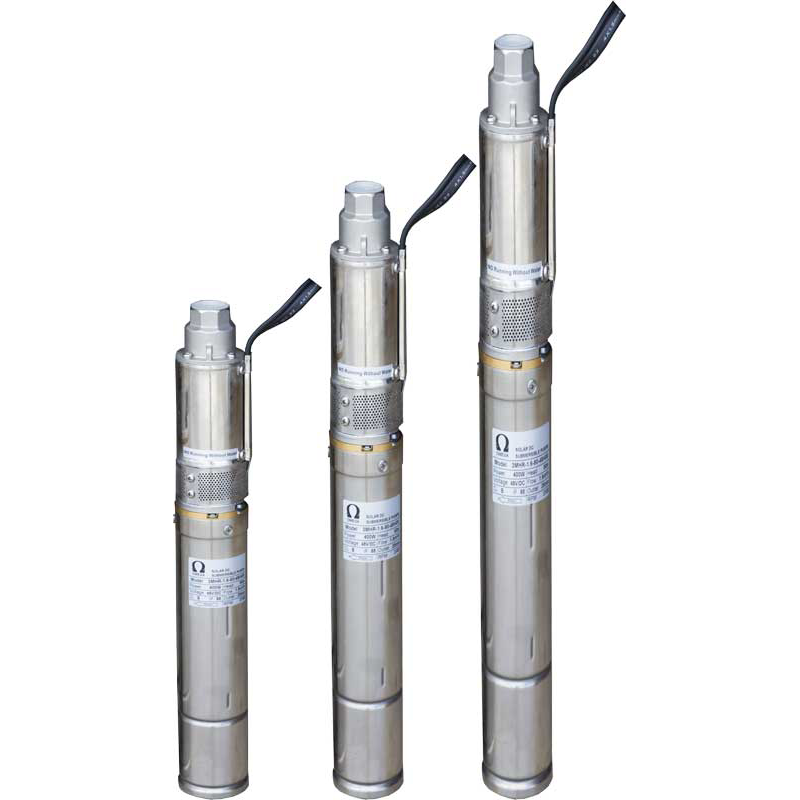 DC Solar Submersible Pumps