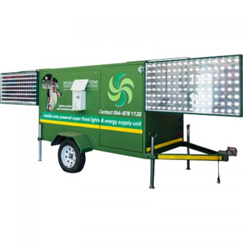 Mobile Solar Trailers