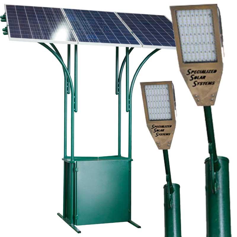 SSS Genesis Solar street lights System X 10